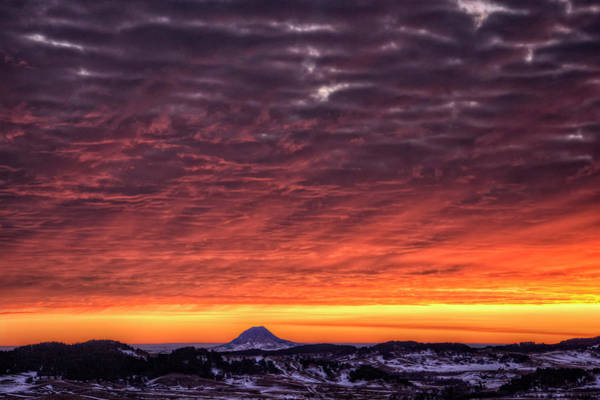 Photograph - Black Hills Sunrise by Fiskr Larsen