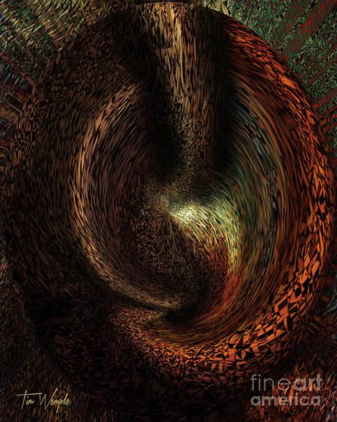 Digital Art - Flow1 by Tim Wemple