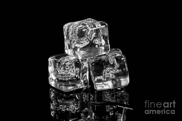 Photograph - Black Ice by Anthony Sacco