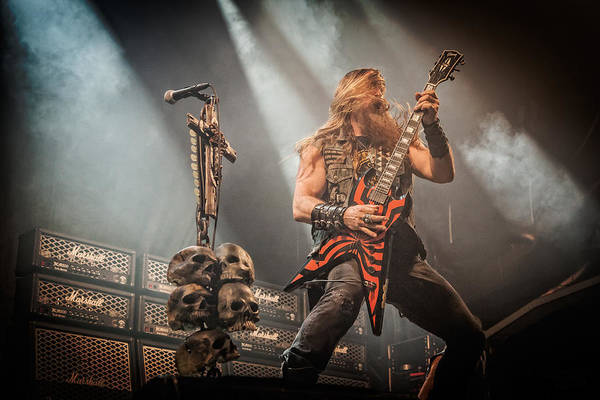 Photograph - Black Label Society II by Stefan Nielsen