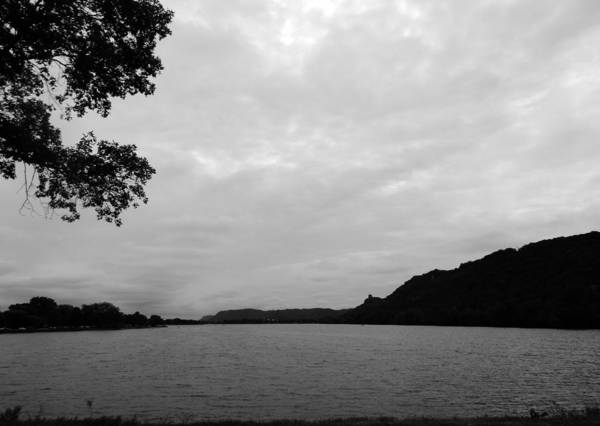 Photograph - Black Lake by Wild Thing