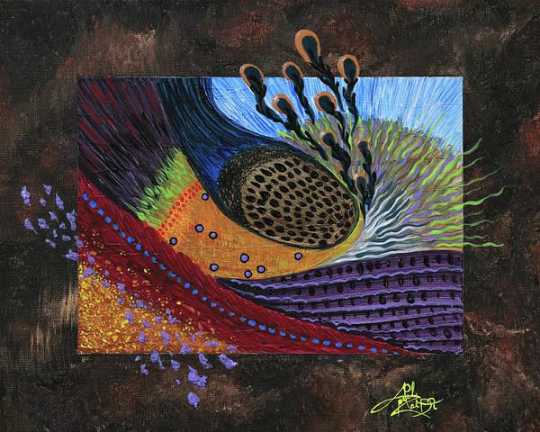 Novelties Painting - Black Licorice by April Zaidi