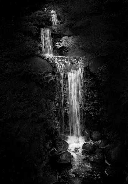 Photograph - Black Magic Waterfall by Peter Thoeny