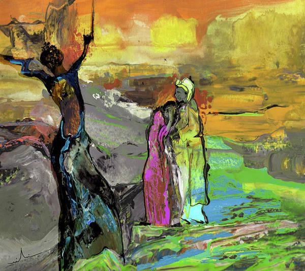 Painting - Black Magic Woman by Miki De Goodaboom