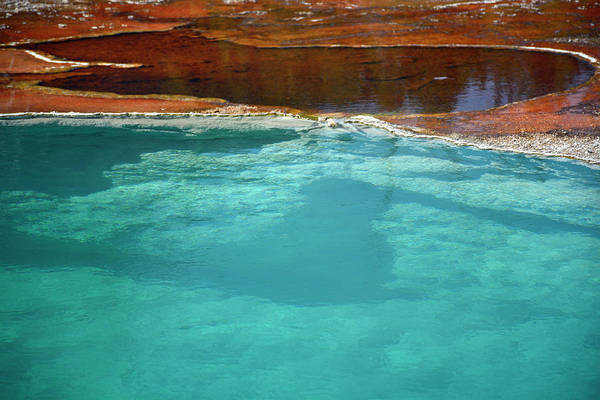 Photograph - Black, Orange And Black Pool by Bruce Gourley