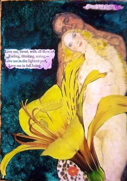 Pregnancy Mixed Media - Black Orchid by Vicki Ledray