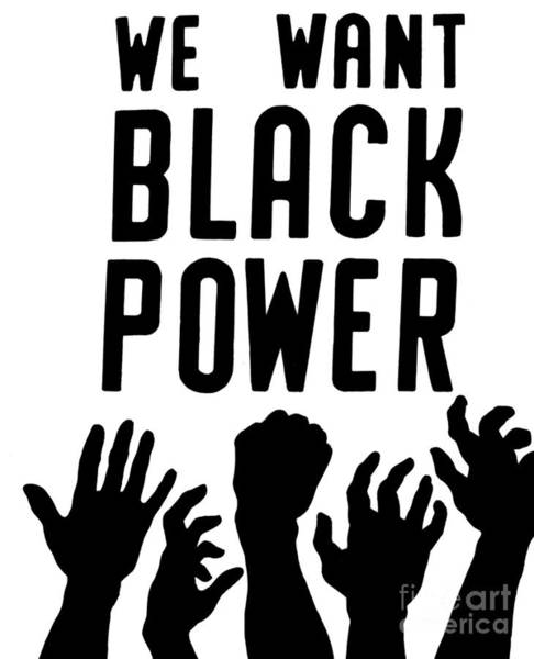 Equal Rights Photograph - Black Power, 1967 by Granger