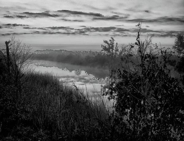 Digital Art - Black River Morning by Michael Thomas