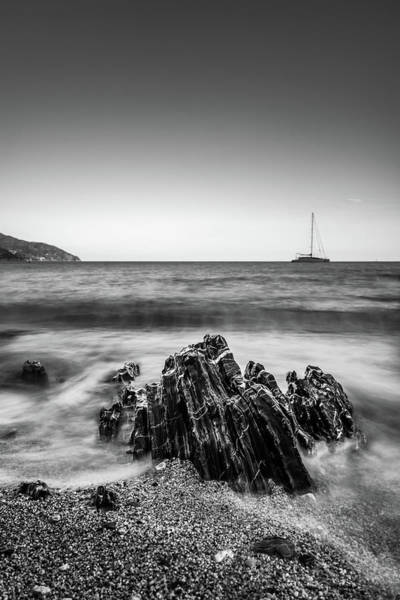 Photograph - Black Rock by Matteo Viviani