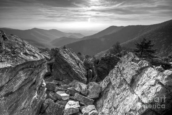 Wall Art - Photograph - Black Rock Mountain Shenandoah National Park by Dustin K Ryan