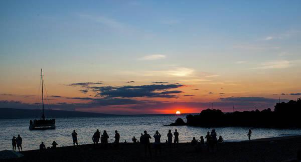 Photograph - Black Rock Sunset by Anthony Jones