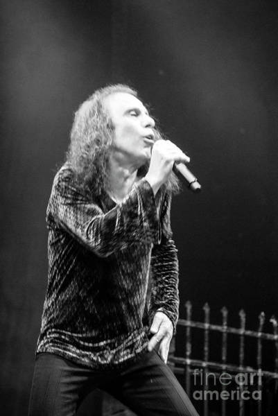 Photograph - Black Sabbath, Ronnie Jamies Dio by Jenny Potter