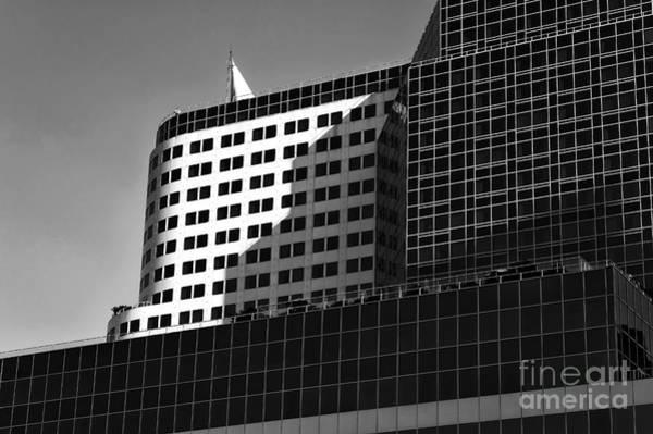 Photograph - Black Shadows In Vancouver Mono by John Rizzuto