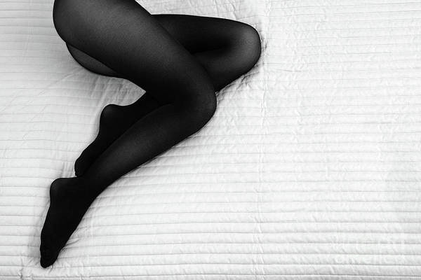 Photograph - Black Tights #6301 by Andrey Godyaykin