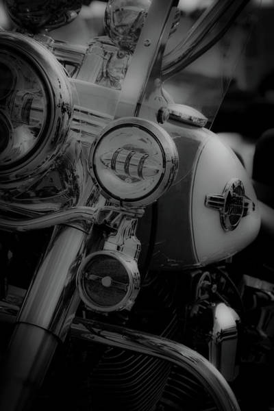 Photograph - Black White Classic Ride 5219 Bw_2 by Steven Ward