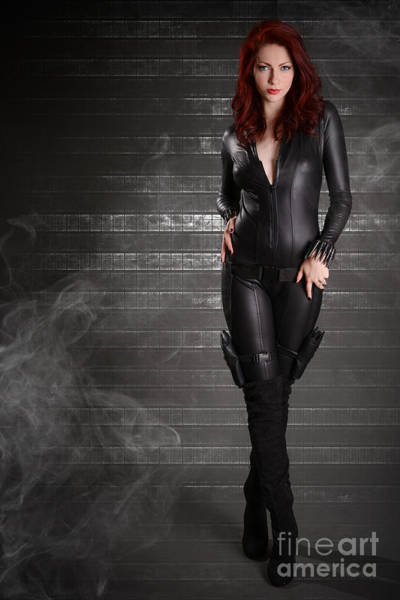 Cosplay Photograph - Black Widow by Jt PhotoDesign
