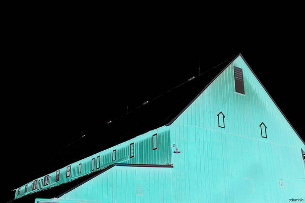 Photograph - Blackburn Barn by Edward Smith