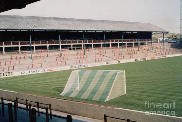 Wall Art - Photograph - Blackburn - Ewood Park - East Stand Riverside 1 - 1980s by Legendary Football Grounds