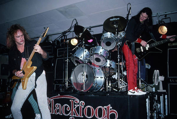 Photograph - Blackfoot At The Chestnut Cabaret by Rich Fuscia