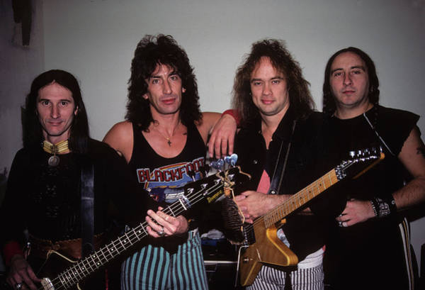 Photograph - Blackfoot Backstage by Rich Fuscia