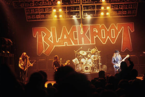 Photograph - Blackfoot On Stage by Rich Fuscia