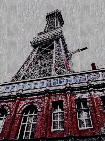 Digital Art - Blackpool Tower by Mark Taylor