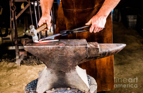 Photograph - Blacksmith by Miles Whittingham