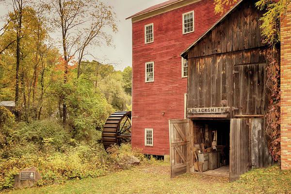 Photograph - Blacksmith Shop At Bowens Mills by Susan Rissi Tregoning
