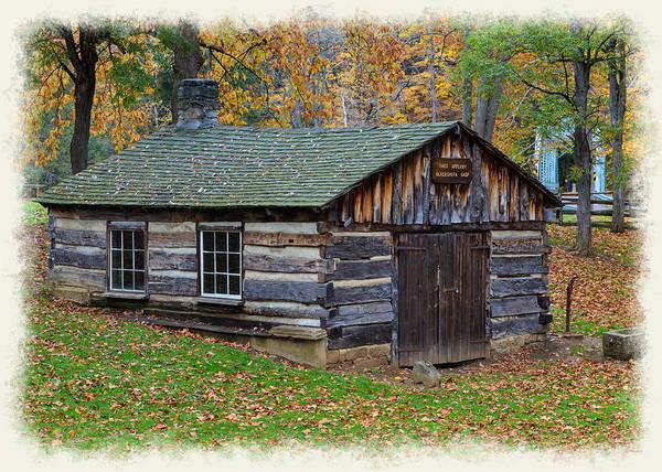 Photograph - Blacksmith Shop by John M Bailey
