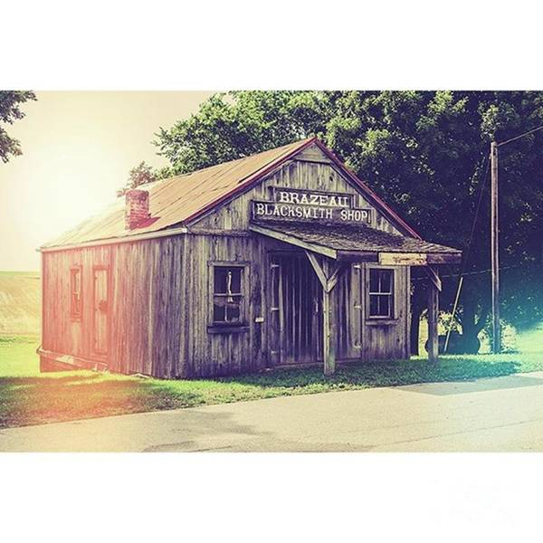 Shop Wall Art - Photograph - Blacksmith Shop Brazeau by Larry Braun