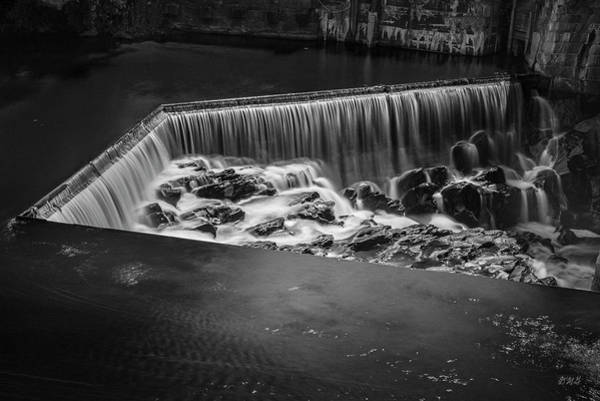 Photograph - Blackstone River I Pawtucket Bw by David Gordon