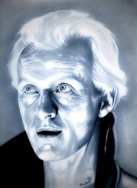 Science Fiction Drawing - Blade Runner Roy Batty by Fred Larucci
