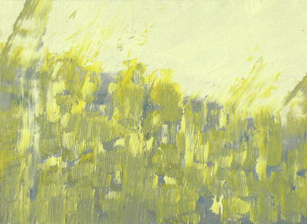 Painting - Bladverk I Motljus  - Sunlit Leafs_0158 Up To 76 X 51 Cm by Marica Ohlsson