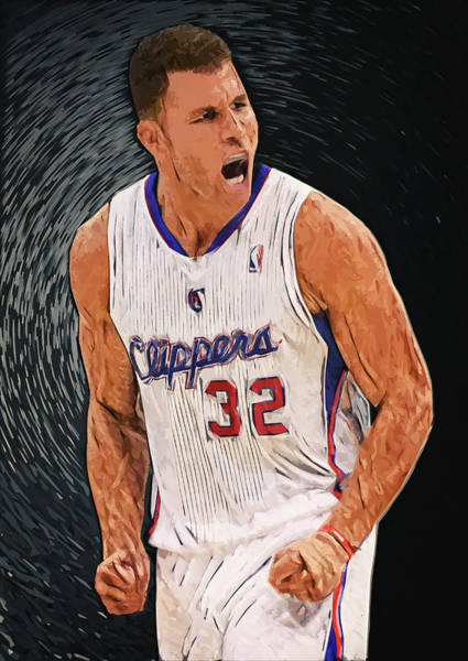 Digital Art - Blake Griffin by Zapista Zapista