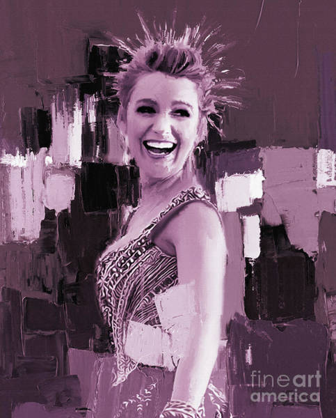 Wall Art - Painting - Blake Lively 11 by Gull G