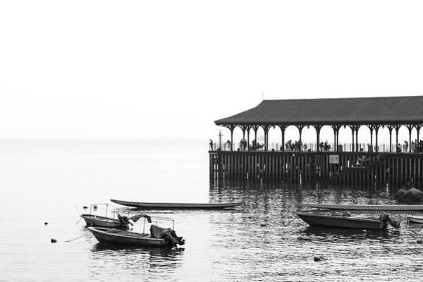 Hongkong Photograph - Blake Pier In Stanley, Hong Kong by Luke Finch