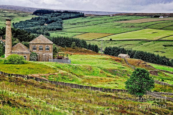 Photograph - Blanchland Moor Pumphouse by Martyn Arnold