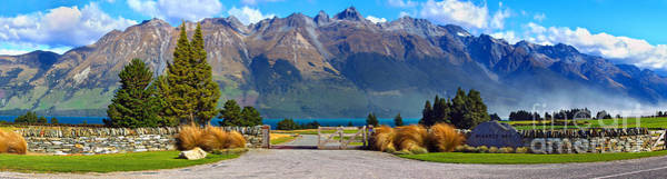 Wall Art - Photograph - Blanket Bay And Mt Bonpland by Bill  Robinson