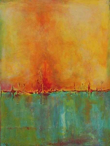 Painting - Blazing by Chris Burton