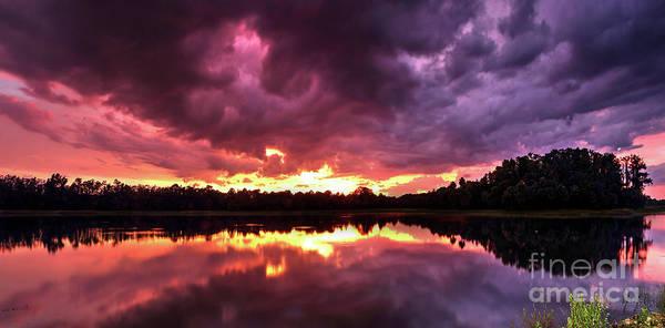 Wall Art - Photograph - Blazing Clouds by Rick Mann