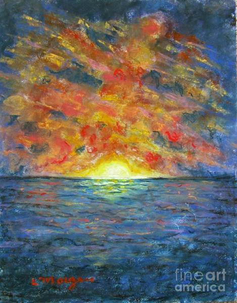 Painting - Blazing Glory by Laurie Morgan