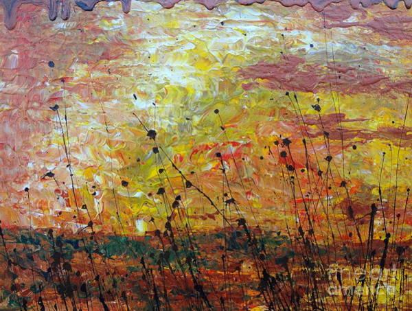 Painting - Blazing Prairie by Jacqueline Athmann