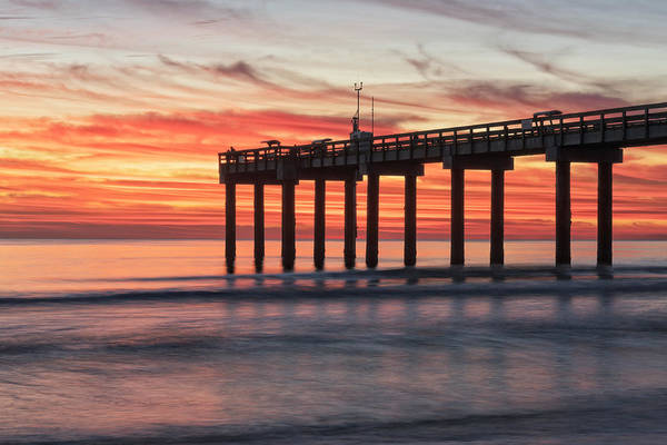 Photograph - Blazing Sunrise by Jim Vallee