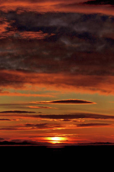 Photograph - Blazing Sunset by Bryan Carter