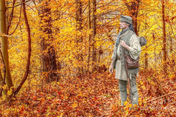 Musket Digital Art - Blazing Unknown Trails by Randy Steele