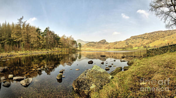 English Photograph - Blea Tarn Panorama by Smart Aviation