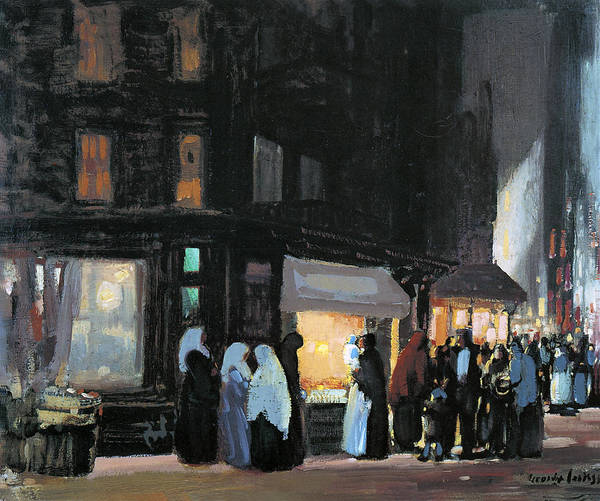 Photograph - Bleecker And Carmine Streets by George Luks
