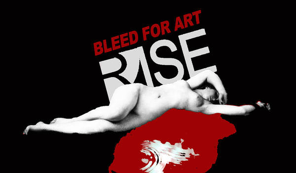 Painting - Rise Bleed For Art by Tony Rubino