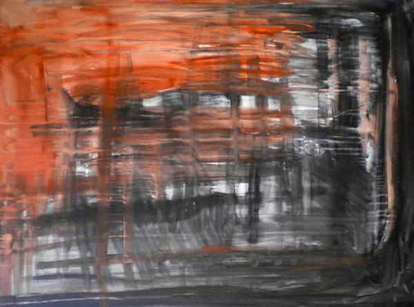 Bleeding Through Art Print