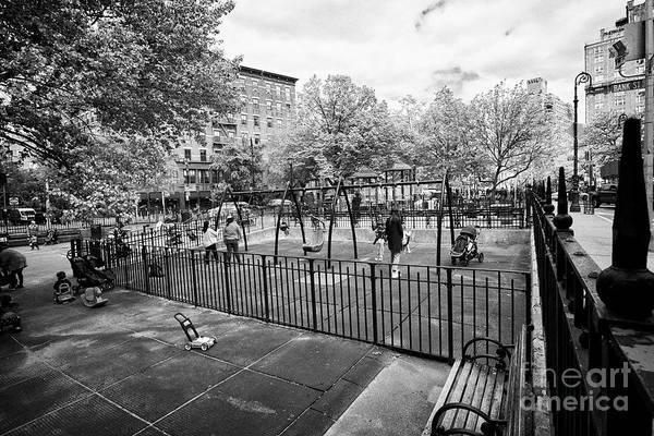 Wall Art - Photograph - bleeker playground greenwich village New York City USA by Joe Fox